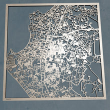 Load image into Gallery viewer, Pattaya Thailand - 3D Wooden Laser Cut Map | Unique Gift