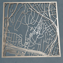 Load image into Gallery viewer, Sarah Lawrence College 3D Wooden Laser Cut Map | Unique Gift - Silvan Art