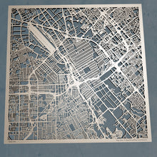 Load image into Gallery viewer, San Jose, California - 3D Wooden Laser Cut Map | Unique Gift