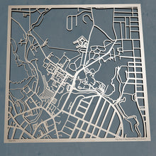 Load image into Gallery viewer, Southern Connecticut State University 3D Wooden Laser Cut Campus Map | Unique Gift - Silvan Art