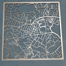 Load image into Gallery viewer, Boston College 3D Wooden Laser Cut Campus Map | Unique Gift