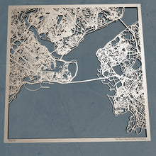 Load image into Gallery viewer, Istanbul Turkey - 3D Wooden Laser Cut Map | Unique Gift