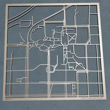 Load image into Gallery viewer, Missouri S&T 3D Wooden Laser Cut Campus Map | Unique Gift