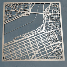 Load image into Gallery viewer, Fisher College 3D Wooden Laser Cut Campus Map