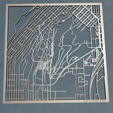 Load image into Gallery viewer, Western Washington University WWU 3D Wooden Laser Cut Campus Map | Unique Gift