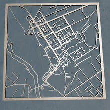 Load image into Gallery viewer, UMF University of Maine at Farmington 3D Wooden Laser Cut Campus Map | Unique Gift - Silvan Art