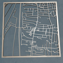 Load image into Gallery viewer, Bay Path University 3D Wooden Laser Cut Campus Map - Silvan Art