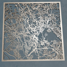 Load image into Gallery viewer, Stoke-on-Trent England - 3D Wooden Laser Cut Map | Unique Gift