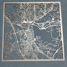 Load image into Gallery viewer, Santa Clarita California - 3D Wooden Laser Cut Map | Unique Gift