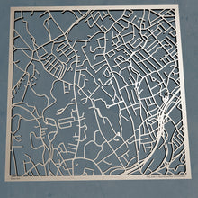 Load image into Gallery viewer, Fairfield University 3D Wooden Laser Cut Campus Map | Unique Gift - Silvan Art
