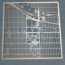 Load image into Gallery viewer, University of Denver 3D Wooden Laser Cut Campus Map | Unique Gift
