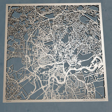 Load image into Gallery viewer, Nottingham England - 3D Wooden Laser Cut Map | Unique Gift