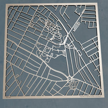 Load image into Gallery viewer, Tufts University 3D Wooden Laser Cut Campus Map | Unique Gift