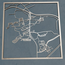 Load image into Gallery viewer, Penn State Behrend 3D Wooden Laser Cut Map - Silvan Art