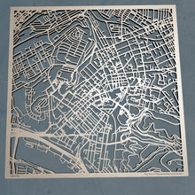 Load image into Gallery viewer, Pitt (University of Pittsburgh) 3D Wooden Laser Cut Campus Map | Unique Gift