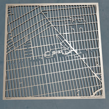 Load image into Gallery viewer, Brooklyn College 3D Wooden Laser Cut Campus Map | Unique Gift - Silvan Art
