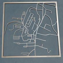 Load image into Gallery viewer, Norwich University 3D Wooden Laser Cut Map | Unique Gift - Silvan Art