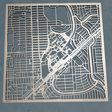 Load image into Gallery viewer, University of Miami 3D Wooden Laser Cut Campus Map