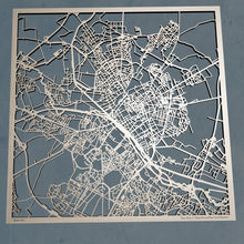 Load image into Gallery viewer, Reims France - 3D Wooden Laser Cut Map | Unique Gift