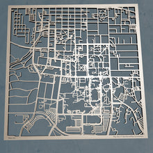 Load image into Gallery viewer, Mizzou - University of Missouri - Columbia 3D Wooden Laser Cut Campus Map | Unique Gift