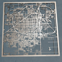 Load image into Gallery viewer, Lubbock, Texas - 3D Wooden Laser Cut Map | Unique Gift