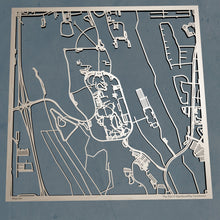 Load image into Gallery viewer, University of North Florida UNF 3D Wooden Laser Cut Campus Map | Unique Gift