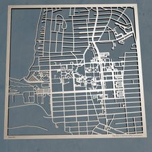 Load image into Gallery viewer, Old Dominion University 3D Wooden Laser Cut Campus Map
