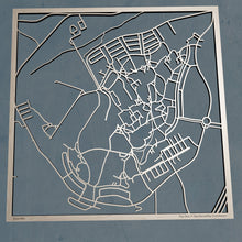 Load image into Gallery viewer, Embry-Riddle Aeronautical University 3D Wooden Laser Cut Campus Map | Unique Gift