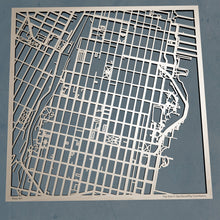 Load image into Gallery viewer, United States Coast Guard Academy 3D Wooden Laser Cut Campus Map - Silvan Art