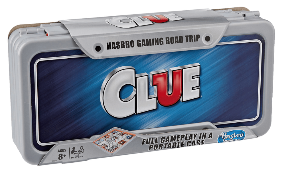 Clue Road Trip ( Cluedo)