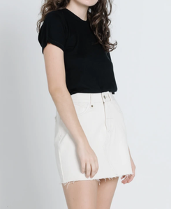 Leni Skirt Shady White