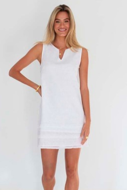 Elli Dress White