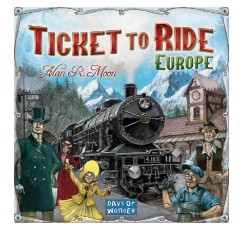 Ticket to Ride EuropeAlan R Moon