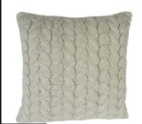 Cable Knit Cushion Natural