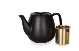 Tea Pot set Black