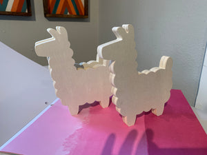 Paint Your Wooden Llama