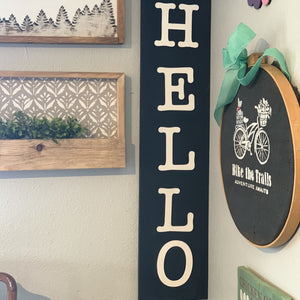 Hello Porch Sign