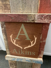 Load image into Gallery viewer, Last name Antlers