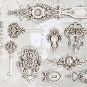 Lock & Key 6x10 Decor Moulds™