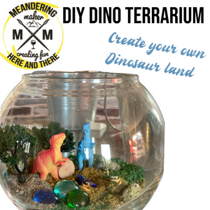 Create Your Own Dinosaur Terrarium