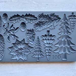 BOUGHS OF HOLLY 6×10 DECOR MOULDS