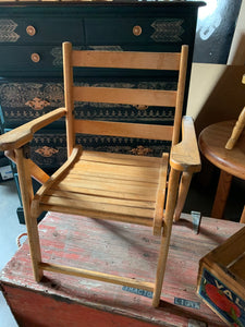 Childs Vintage Folding Chair
