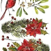 Load image into Gallery viewer, WOODLAND CHRISTMAS IOD TRANSFER 12x16 PAD