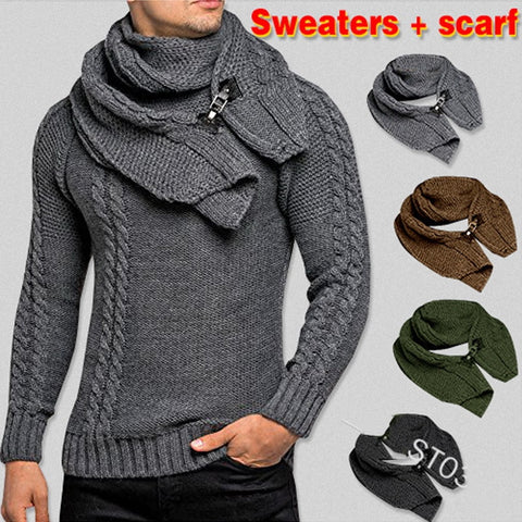 SWEATER + Gift Scarf