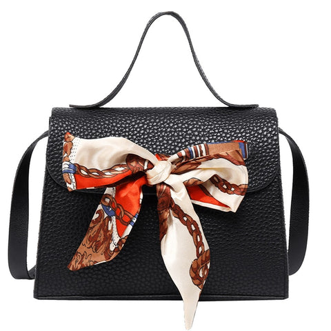 Woman's handbag with Small Scarf