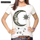 T shirt top round neck