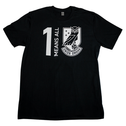 Union Omaha BR Black One Means All Tee