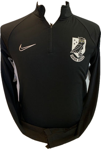 Union Omaha Men's Nike Academy Drill Black L/S Top