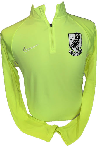 Union Omaha Men's Nike Academy Drill Volt L/S Top