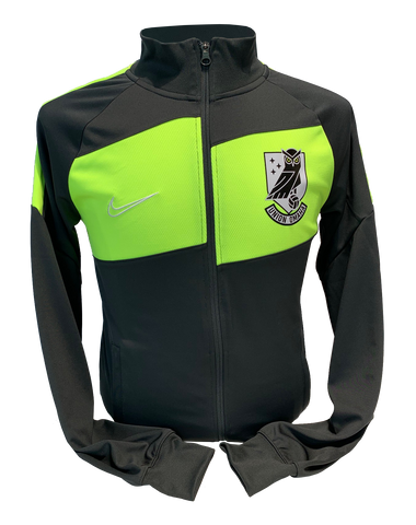 Union Omaha Men's Nike Anthracite/Volt Dry Pro Crest Jacket
